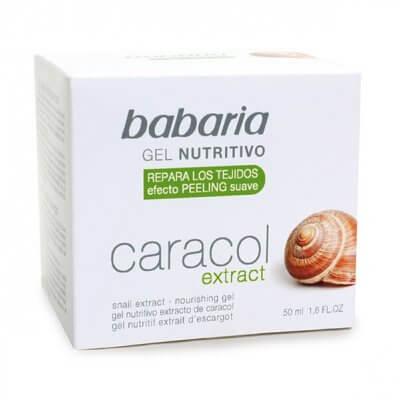 Babaria gezichtsgel slakkenextract