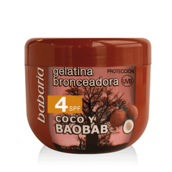 Babaria zonnecreme Cocos-BAOBAB 4 spf